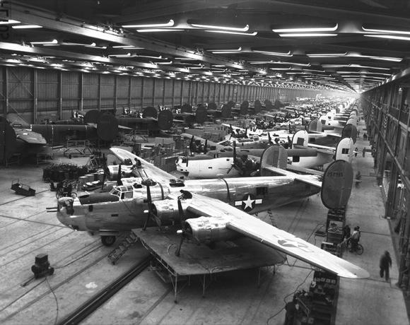 B-24 Manufacturing