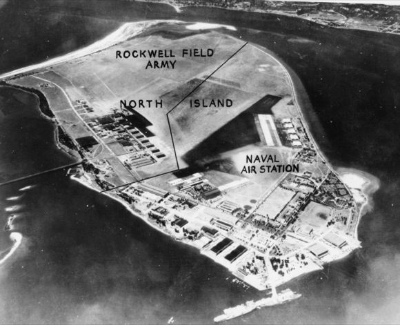 Aerial of North Island