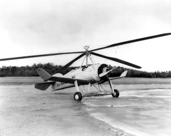 First Rotary-Wing Aircraft
