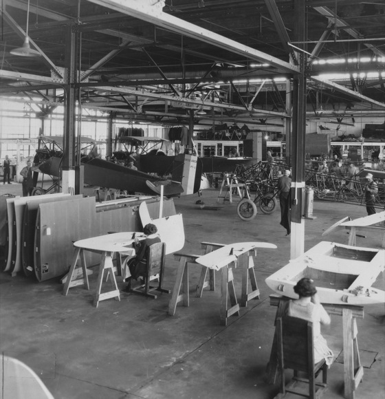 Interior of Consolidated Plant