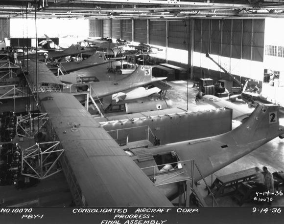 PBY Catalinas