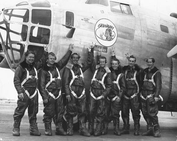 Prototype of the 1st B-24
