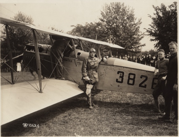 First Airmail Service