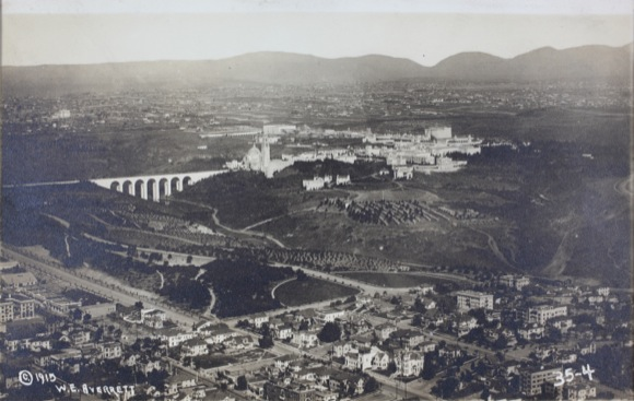 Aerial View of Balboa Park, 1915 (Property of the Library & Archives, SDASM).