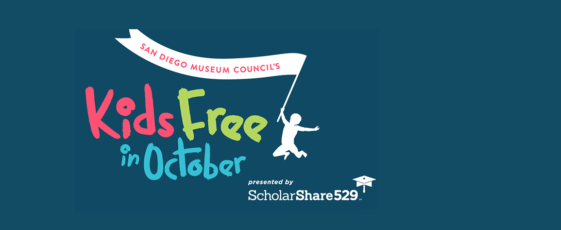 Kids Free in October, presented by ScholarShare