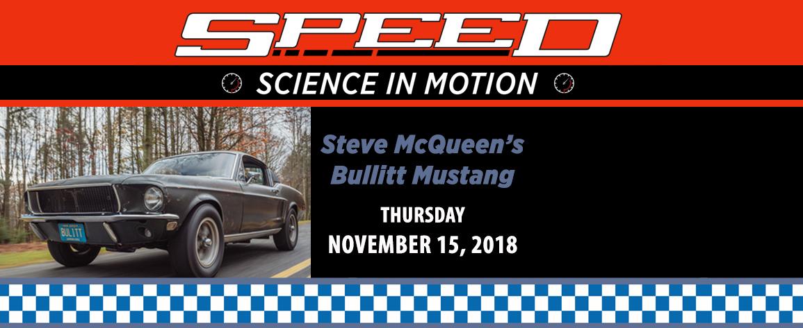 Original Bullitt Mustang Driven by Steve McQueen SPEED Grand Finale
