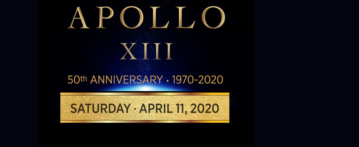 Apollo 13 - Event - POSTPONED