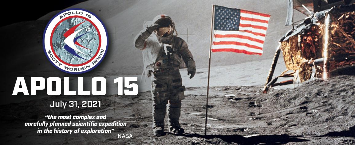 Apollo 15 - 50th Anniversary Celebration