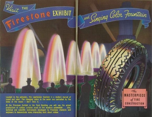 Firesone Ad - 1935. David Marshall Ephemra Collection