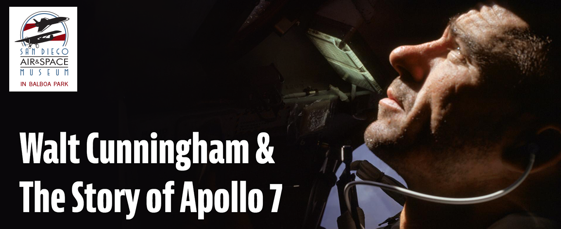 Watch Walt Cunningham and the Apollo 7 Story